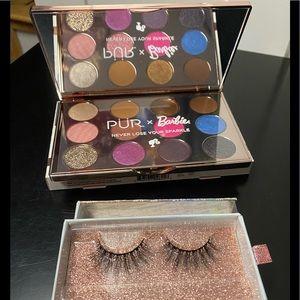 Limited edition Barbie eyeshadow palette